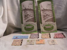MAY 8,1961 SPRING MEETING CHURCHILL DOWNS PROGRAMS WITH TICKETS STUBS