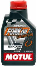 MOTUL FORK OIL OLIO FORCELLE VERY LIGHT 2,5W SINTETICO FACTORY LINE MOTO TRIUMPH