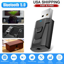 4in1 Bluetooth Transmitter & Receiver Wireless A2DP TV Stereo Audio USB Adapter