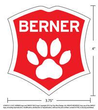Bernese Mountain Dog Car Decal. Berner sticker.