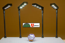 4x Jewelry showcase LED POLE light FY-58 With UL 12V Power Supply U.S Seller