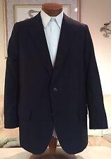 NEW Brooks Brothers Golden Fleece Black 3 Btn Blazer Sport Coat Sz 46 R