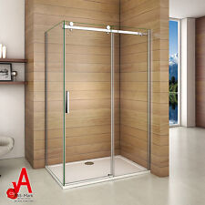 1200x900x1950mm Frameless Sliding Shower Screen Enclosure Cubical