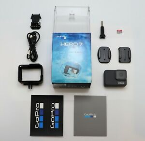 GOPRO HERO 7 SILVER EDITION CAMCORDER BOXED ACTION CAM SDXC 4K / 1080P VIDEO CAM