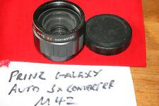Prinz Galaxy 3x Teleconverter for M42 Screw Mount Lens - Slight Dust, Fungus