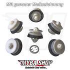 5x rivestimenti interni clip di fissaggio con gomma per VW SEAT AUDI 8Z0868243