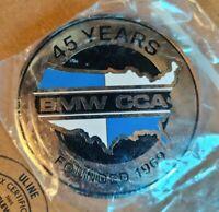 BMW CCA Car Club of America 45 Year Anniversary logo