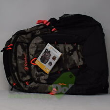 "Outdoor Products Black Backpack Kinetic Day Pack Padded 18.5"" Camouflage"