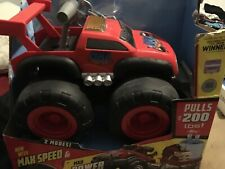 Max Tow Truck Toy Truck, Pulls Up To 200 Lbs, Max Speed & Mac Power