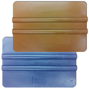 5 Squeegee 3M Made IN USA For Glue From Sticker Adhesive Foil PVC Foil