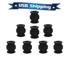 8pcs Black Anti-Vibration Rubber Damper Damping Ball for Gimbal Gopro DJI Camera