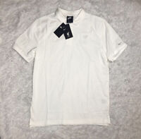 Nike Liverpool England Soccer Polo Shirt Mens Size L Large White NWT