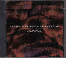 Barbra Streisand&Celine Dion-Tell Him Promo cd single