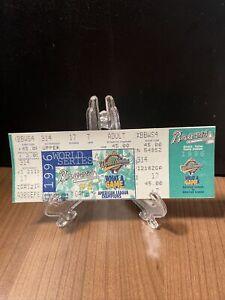 1996 World Series Ticket Unused  Atlanta Braves vs New York Yankees Oct 23 1996
