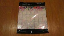 Cynthia Rowley Dry-Erase Wall Decals Kit Planner Corkboard Push Pins Notes