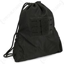 Hextac Sportsbag - Black - Bag Backpack Rucksack Gym Sack School Army 7L New