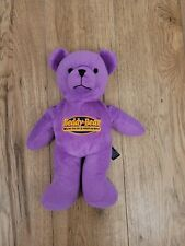 Intelex Beddy Bear Warm Me In A Microwave Plush Purple Bear Soothing Comforting