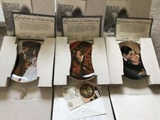 Gone with the Wind Critic's Choice Collectors Plates: Set of 12 In Box COA MORE