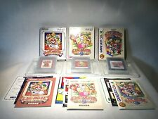 Nintendo Gameboy Game and Watch Gallery Set 1 2 3 GB Japan Boxed