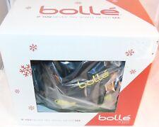 New! $60 Bolle B-KID Shiny Black ROBOT Ski Snowboard Helmet Kid's Size 49-53CM