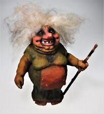 NyForm Woman Female Forest Folk Elder Troll Norway Handmade #114 with Tag