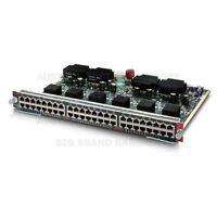 Genuine Original Cisco 48-Port Ethernet Switching Module WS-X4248-RJ45v