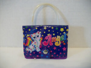 VINTAGE LISA FRANK CHRISSY ANGEL CAT PHOTO WALLET