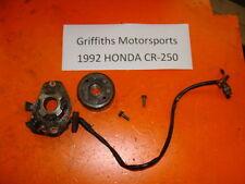 92 93 95 HONDA CR250R CR250 STATOR MAGNETO ROTOR FLYWHEEL GENERATOR GEN PICKUP