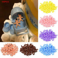100pcs/Set Mini Plastic Babies Favor Supplies For Baby Shower and Ice Cube Game