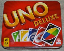 Uno Deluxe Card Game in Tin Box