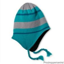 Champion C9 Peruvian Blue Striped Beanie Winter Hat One Size Fit - Kids