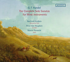 G. Handel / Barthold - Complete Solo Sonatas for Wind Instruments [New CD]