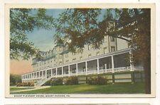 Mount Pleasant House Hotel MT POCONO PA Vintage Poconos Pennsylvania Postcard