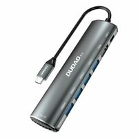 USB C Hub 8 in 1 für MacBook Pro -Air Dual Typ C Adapter Thunderbolt 4K USB 3.2