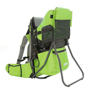 ClevrPlus CC Hiking Child Carrier Baby Backpack Camping for Toddler Kid, Green