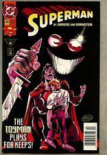 Superman #84-1993 fn/vf Toyman Newsstand Variant