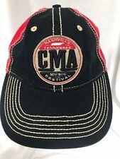 Cma Nashville 2016 Music Festival Baseball Hat Adjustable Cap Blue Red
