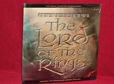 OST 2 LP SET THE LORD OF THE RINGS LEONARD ROSENMAN 1978  FANTASY SEALED MINT
