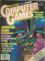ORIGINAL Vintage Computer Games Magazine July/Aug 1984 Atari