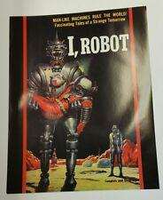 """"""" I, ROBOT """"   Vintage Pulp Novel Cover Art Poster /  22""""x28"""""""