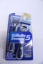 Gillette Sensor 5 - Package Has 2 Disposable Razors with 5 Blades