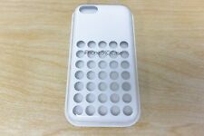 New in Box Original Apple Silicone Case for Apple iPhone 5c - White MF039ZM/A