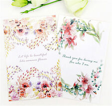 30PCS/box Flowers Style Painting Pictures Set / Greeting Card / Birthday Cards
