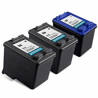 3PK HP 56 HP 57 Ink Cartridge C6656AN C6657AN for DeskJet 5850 9650 9670 9680