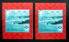 GB 2014 Commonwealth Games Swimming £25 Each with 3 mm Upward SEE BELOW NC498
