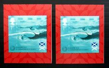 GB 2014 Juegos de Commonwealth Natación £ 25 cada uno con 3 mm hacia arriba ver abajo NC498