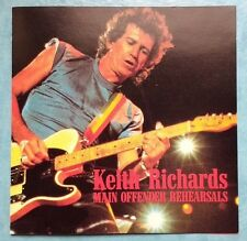Keith Richards ‎– Main Offender Rehearsals rare trax74=92-rare import cd 1995
