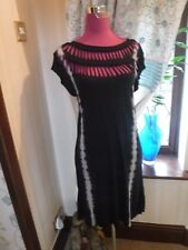 Stunning All Saints Slash Tee Dress Tie Dye Size Small Excellent Condition