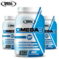 OMEGA 3 - Fish Oil 1000 mg -  EPA DHA Supplements - Vitamin E - Heart Health