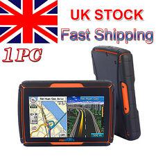 "4.3"" 8GB Motorbike Car Bluetooth GPS SAT NAV Waterproof Touch Screen + Free Maps"